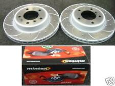 BMW 325CI COUPE BREMBO DRILLED GROOVED BRAKE DISC PADS