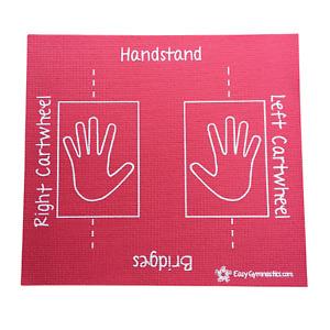 Pink Cartwheel Training Mat (Teaches: Handstand, Bridges, Rolls) - Non-Slip;Soft