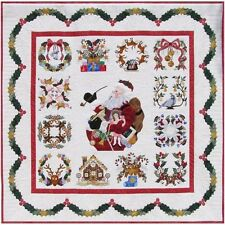 P3 Designs Baltimore Christmas Holiday BOM Applique Quilt Pattern Set