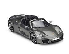 Bburago 1:24 Porsche 918 Spyder Racing Car Vehicle Diecast Model New in Box