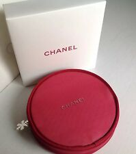 Chanel Beauty Red Rouge Make Up Bag Accessory Brand New 2016