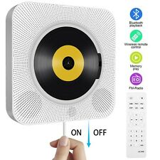 Portable CD Player, Tenswall Wall Mountable Bluetooth Built-in HiFi Speakers,...