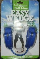 Lucky Bums Easy Wedge Fall Line Ski Tip Connector Blue New