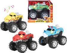 "Friction Dino Truck With Light & Sound 8"" Small -Ship 1 pc Randomly"
