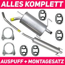 Auspuff OPEL CORSA C 1.2 1.4 16V 2000-2006 Auspuffanlage J15