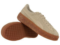 Puma Basket Platform Women's Sneakers Sports Brown Trainers Casual Shoes
