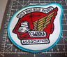 Gold Wing Road Riders GWRRA Embroidered Patch, great collectible, blue border