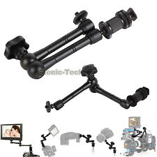 Articulating 11'' Adjustable Magic Arm for LED light LCD Monitor Camera DLSR Rig