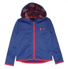 Under Armour Girls Lavender & Pink Zip-Up Hoodie Size 5