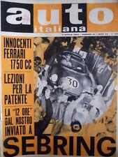 Auto Italiana n°14 1963 Due Lotus 29 Indianapolis - Innocenti Ferrari 1750 [P27]