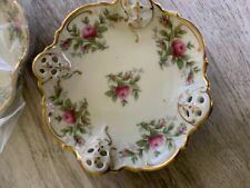 Rosenthal Germany Moonrose Dish Vintage Set of 5