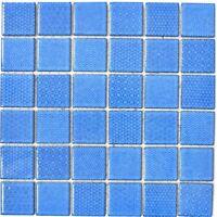 Mosaik Fliese Keramik blau quadratisch Celadon Heritage Cobalt WB16-0404
