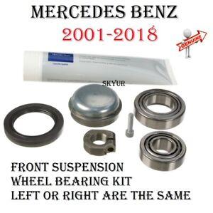 Front Suspension Wheel Bearing Kit For Mercedes Benz W203 W204 W209 W211 W212 OE