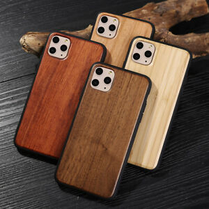 Real Natural Wooden Wood Phone Case Cover Apple iPhone 12 11 XS Max XR X 8 7 6 +