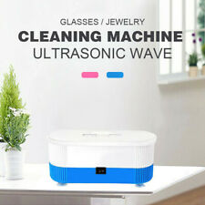 Pro Ultrasonic Jewelry Cleaner Denture Eye Glasses Coins Silver Cleaning Machine