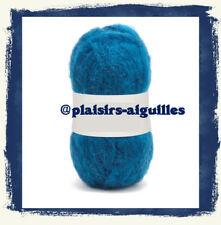 5 ovillos de lana HILO LUZ NAVAL Nueva