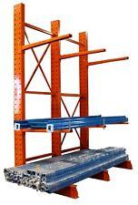 Medium Duty Cantilever Rack w/ Base Plates - Complete Bay 4812-3-D - SA