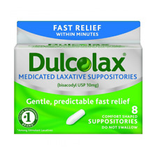 Dulcolax Suppositoires 10 MG, 8ct