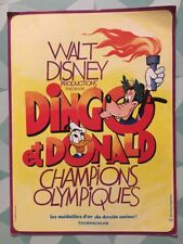 DINGO ET DONALD CHAMPIONS OLYMPIQUES - WALT DISNEY -  Synopsis