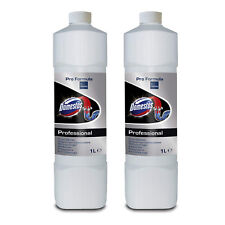 2 X DOMESTOS DRAIN CLEANER UNBLOCKER PROFESSIONAL 1L - only £9.99!!