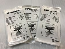 30 Sheets Polaroid Pogo 2x3 Zink Media Photo Paper for HP Sprocket/Polaroid/LG