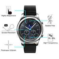 2-Pack Tempered Glass Screen Protector For Samsung Gear S3 Frontier /Classic