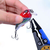 US Fishing Pliers Saltwater Stainless Stee Tools Hooks Remover Braid Cutter