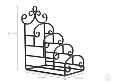 Wrought iron plate rack