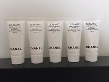Lot of 5 CHANEL Le Blanc Brightening Moisturizing Cream TXC 5ml / 0.17oz each
