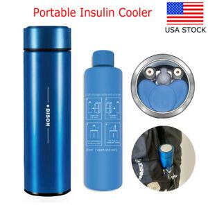 Portable Insulin Cooler Travel Refrigerator Insulated Insulin Reefer Bottle