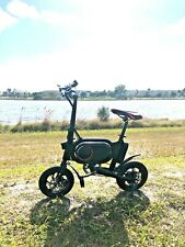 Dealsplaza  Electric Bike - Black With Red 20mph Battery 42v 18 Miles Distance