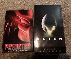 NECA Alien Big Chap & Predator Jungle Hunter ULTIMATE EDITION COMPLETE