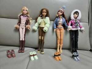 Barbie My Scene Chillin' out MADISON  Kennedy, Chelsea, Wesley Dolls