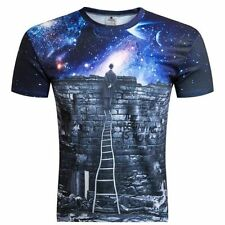 Unbranded Polyester Big & Tall Singlepack T-Shirts for Men
