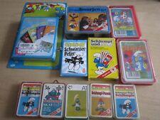 11 Quartett Spiele Quartette Kartenspiele Die Schlümpfe Smurfs b.