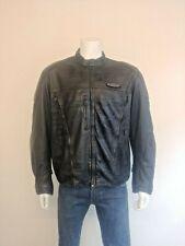 HARLEY DAVIDSON FXRG An American Legend 100% Leather Vintage Biker Jacket. Large