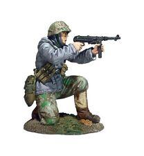 Britains soldados WW11 25056 alemán Volksgrenadier arrodillado disparo MP-40