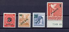 Berlin 64-67 Grünaufdruck postfrisch komplett geprüft, 67 mit HAN (us261)