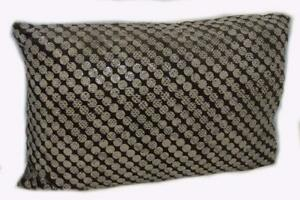 DRANSFIELD & ROSS Snake Eyes Seal Dark Brown DECORATIVE PILLOW NWT
