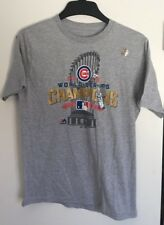 NWOT Chicago Cubs Majestic 2016 World Series Champions Locker Room Youth XL