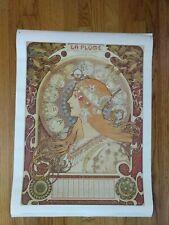 La Plume Vintage French Nouveau reprint Poster Print Art institute of Chicago B5
