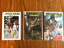 Star Wars Adventures #1 1:50 , 1:25 and 1:10 Retailer Incentive NM Box Shipped