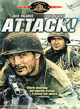 "ATTACK! Jack Palance Lee Marvin ""1956"" DVD *Disc Only-NO CASE *OOP! (16)"