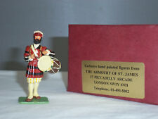 H + M Arsenale di St James London Yeoman BATTERISTA METAL TOY SOLDIER Figura