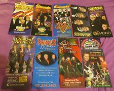 Osmonds / Jimmy Osmond - 9 Different Rack Cards From Branson - Merrill, Jay
