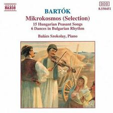 Bal zs Szokolay, B. - Mikrokosmos / 15 Hungarian Peasant Songs [New CD]