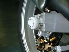 Suzuki GSX R600 SRAD 1998 R&G Racing Swingarm Protectors SP0001WH White
