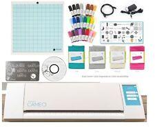 The NEW  Silhouette CAMEO V2 Digital Cutting Machine + Starter Pen & Cover