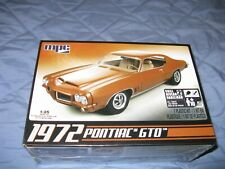Mpc 1972 Pontiac Gto Car 1/25 Model Kit Muscle Car Sealed