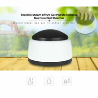 36W Professional Nail Electric Steam UV Gel Polish Removal Machine Steamer off